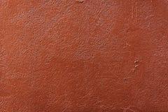 Fundo áspero da textura da cor alaranjada do tijolo Imagem de Stock