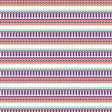 Fundo étnico nativo do teste padrão do estilo da tela ilustração do vetor