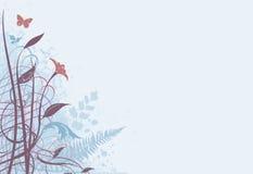 Fundo 02 floral ilustração royalty free