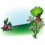 Fundo 07 dos desenhos animados Fotos de Stock Royalty Free