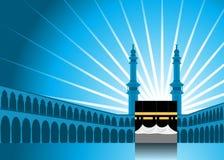 Fundo 1 da peregrinação do Haj Fotografia de Stock Royalty Free