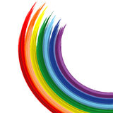 Fundo 2 do vetor do sumário do arco-íris da arte Fotografia de Stock Royalty Free