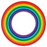 Fundo 2 do vetor do sumário do frame do arco-íris da arte Fotos de Stock