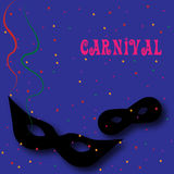 Fundo 3 do carnaval Fotos de Stock Royalty Free