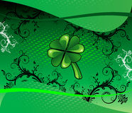 Fundo 3 do St Patricks ilustração royalty free