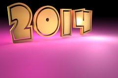fundo 2014 Imagens de Stock