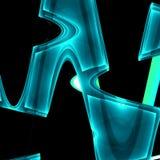 Fundo 3D abstrato Fotos de Stock Royalty Free