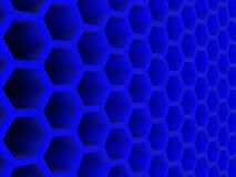 Fundo 3d azul Fotografia de Stock Royalty Free