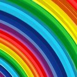 Fundo 7 do vetor do sumário do arco-íris da arte Fotografia de Stock Royalty Free