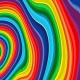 Fundo 8 do vetor do sumário do arco-íris da arte Fotografia de Stock