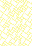 Fundo A4 - amarelo e branco Fotografia de Stock Royalty Free