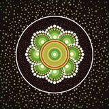 Fundo aborígene do vetor da arte Imagem de Stock