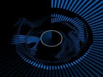 Fundo abstrato alta tecnologia Imagens de Stock Royalty Free