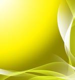 Fundo abstrato amarelo ilustração royalty free