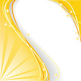 Fundo abstrato amarelo Imagem de Stock Royalty Free
