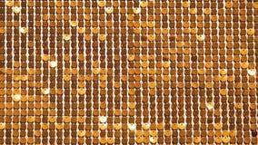 Fundo abstrato amarelo no baseado da distorção do metal, dos círculos e das sombras, textura da superfície branca com muito vídeos de arquivo