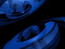 Fundo abstrato - anéis Fotos de Stock