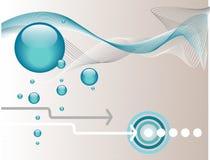 Fundo abstrato aquático Imagem de Stock