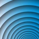 Fundo abstrato arredondado azuis marinhos Fotografia de Stock Royalty Free