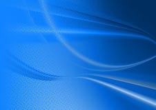 Fundo abstrato azul Imagens de Stock Royalty Free