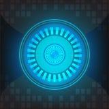 Fundo abstrato azul Foto de Stock Royalty Free