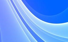 Fundo abstrato azul & branco ilustração stock