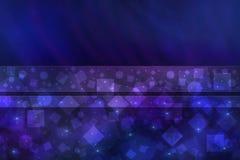 Fundo abstrato azul brilhante Fotos de Stock