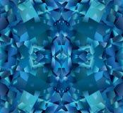 Fundo abstrato azul com textura do topázio ilustração do vetor