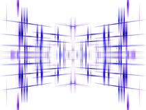 Fundo abstrato azul da grade Fotografia de Stock