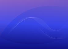 Fundo abstrato azul de fluxo Fotografia de Stock Royalty Free