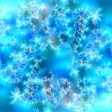 Fundo abstrato azul e branco Imagem de Stock