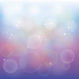Fundo abstrato azul e roxo Fotos de Stock Royalty Free