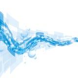 Fundo abstrato azul/eps10 ilustração stock