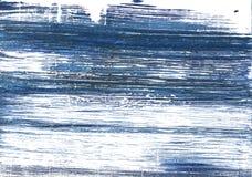 Fundo abstrato azul metálico da aquarela imagem de stock