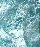 Fundo abstrato azul tirado m?o ilustração stock