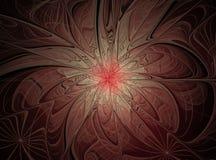 Fundo abstrato bonito do fractal ilustração stock