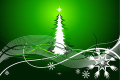 Fundo abstrato bonito do vetor do Natal Foto de Stock Royalty Free
