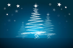 Fundo abstrato bonito do vetor do Natal Fotos de Stock Royalty Free
