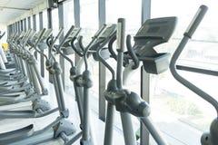 Fundo abstrato borrado do gym da aptidão Imagens de Stock Royalty Free