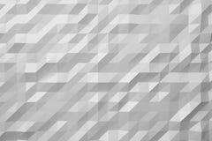 Fundo abstrato branco baixo poli Imagem de Stock Royalty Free
