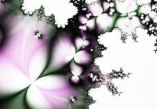 Fundo abstrato branco roxo do jade ilustração do vetor