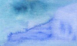 Fundo abstrato brilhante azul da aquarela imagem de stock royalty free