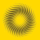 Fundo abstrato Checkered Imagens de Stock Royalty Free