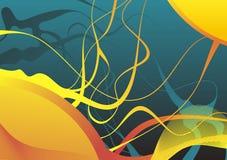 Fundo abstrato colorido Imagens de Stock Royalty Free