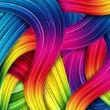 Fundo abstrato colorido ilustração royalty free