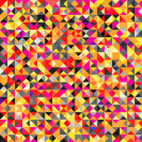 Fundo abstrato colorido brilhante de Tessellating Imagens de Stock