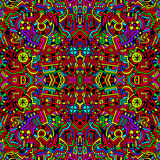 Fundo abstrato colorido brilhante sem emenda Fotografia de Stock Royalty Free