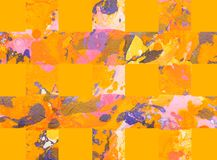 Fundo abstrato colorido com listras Foto de Stock Royalty Free