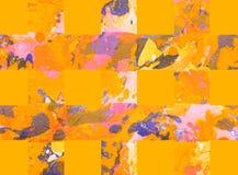 Fundo abstrato colorido com listras Foto de Stock Royalty Free