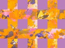 Fundo abstrato colorido com listras Imagens de Stock